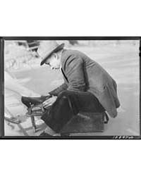 New York, New York Shoe Shining in Washi... by Library of Congress