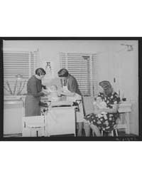 Well Baby Clinic Tulare Migrant Camp Vis... by Library of Congress