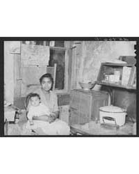 Negro Woman and Baby in Washington Slums... by Library of Congress