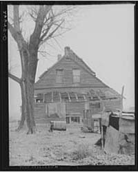 Home of Tenant Farmer Camden County, New... by Library of Congress
