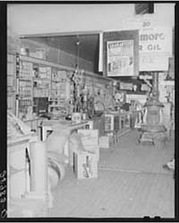 General Store Sells Everything from Batt... by Library of Congress
