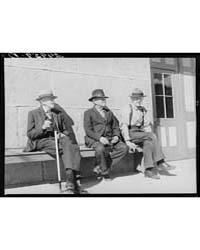 Men in Front of Firehouse Carson City, N... by Library of Congress