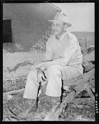 Owner of the Walking X Ranch Marfa, Texa... by Library of Congress