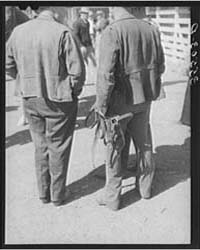 Cattlemen at San Angelo Fat Stock Show S... by Library of Congress
