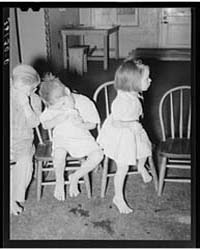 Children Eating Grapefruit After Taking ... by Library of Congress