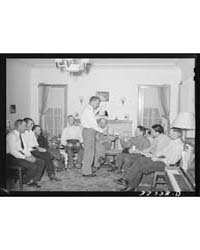 Meeting of Mormon Farmers Who Have Forme... by Library of Congress