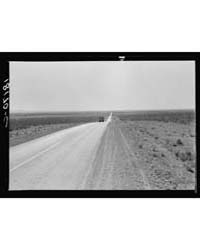 The Highway Going West US 80 Near Lordsb... by Library of Congress