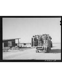 Migratory Workers Returning from Day's W... by Library of Congress