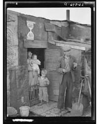Family on Relief Living in Shanty on Cit... by Library of Congress