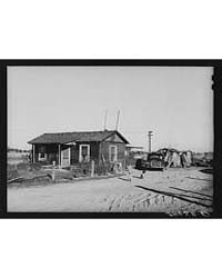 House and Shed Constructed on Lot in Bul... by Library of Congress