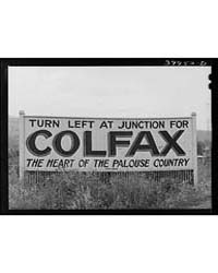 Sign Whitman County, Washington the Palo... by Library of Congress