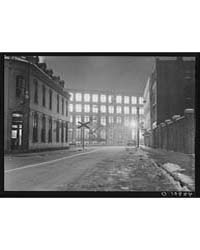 Textile Mill Working All Night in Lowell... by Library of Congress