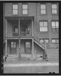 Houses in Slum Area in Pittsburgh, Penns... by Library of Congress