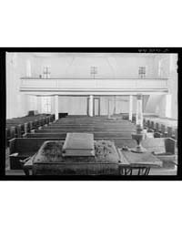Interior of the Bethesda Baptist Church ... by Library of Congress
