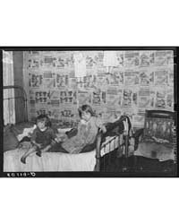 Children in Bedroom of Their Home, Charl... by Library of Congress