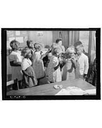 Second and Third Grade Children Being Ma... by Library of Congress