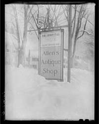 Sign Showing Ski Influence in Main Stree... by Library of Congress