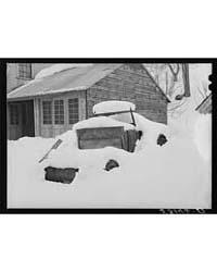 Truck Snowed Under on Farm in Woodstock,... by Library of Congress