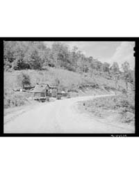 Mountain Cabin, General Store and Gas St... by Library of Congress