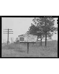 Religious Sign on Highway Between Columb... by Library of Congress