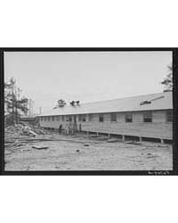 New Barracks Under Construction at Camp ... by Library of Congress