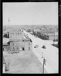 Main Street of Scranton, Iowa Tanktown, ... by Library of Congress