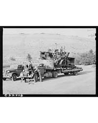 Truck Used for Transporting Combine Garf... by Library of Congress