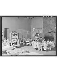 Lunch at the Nursery School at the Fsa (... by Library of Congress
