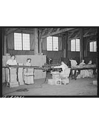 Labeling and Packing Canned Salmon Astor... by Library of Congress
