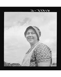 Farm Woman Was Working in Fields Along R... by Library of Congress