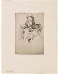 Mrs. Philip, Photographs 01205V by Whistler, James McNeill