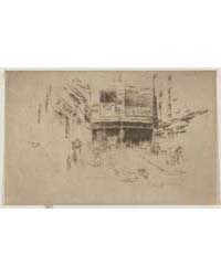 The Clothes Exchange, Houndsditch. Numbe... by Whistler, James McNeill