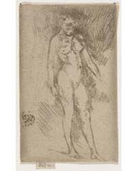 Little Nude Figure, Photographs 01221V by Whistler, James McNeill