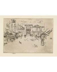 Little Market Place, Tours, Photographs ... by Whistler, James McNeill