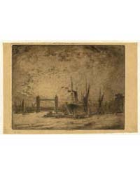 Tower Bridge, Evening, Photographs 06826... by Pennell, Joseph