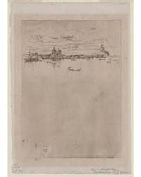Upright Venice, Butterfly Monograpm, Pho... by Whistler, James McNeill