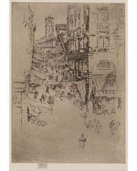 The Rialto, Butterfly Monogram, Photogra... by Whistler, James McNeill