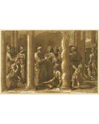 Saints Peter John Curing the Sick, Photo... by Raphael