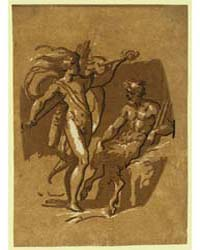 Apollo Marsyas, Photographs 18669V by Carpi, Ugo Da