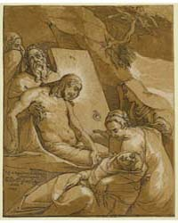 The Entombment, Raff. Da Reggio Invent. ... by Andreani, Andrea