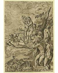 Nymphs Bathing, Aa Monogram of Andrea An... by Carpi, Ugo Da