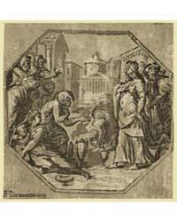 Ritual in Honor of Psyche, Aa Monogram o... by Vicentino, Giuseppe Niccolo