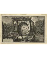 Veduta Dell'Arco Fabbricato in Onore D'A... by Piranesi, Giovanni Battista