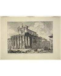 Veduta Del Tempio Di Antonino E Faustina... by Piranesi, Giovanni Battista