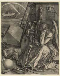 Melencolia I, Ad Monogram, Photographs 2... by Dürer, Albrecht