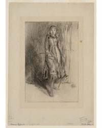 Florence Leyland, Photographs 25255V by Whistler, James McNeill