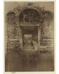 The Doorway, Photographs 25264V by Whistler, James McNeill