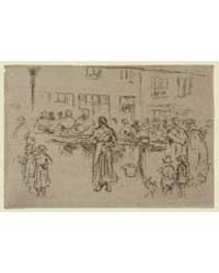 Fish Market, Ostend, Belgium, Photograph... by Whistler, James McNeill