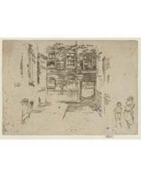 Gray's Inn Place, Photographs 25315V by Whistler, James McNeill