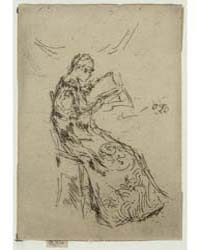 The Japanese Dress, Photographs 25322V by Whistler, James McNeill